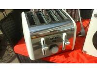 Breville 4 slice toaster-cream