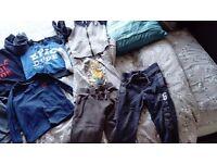 Boys clothing bundle aged 2-3