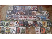 48 VIDEO GAMES BUNDLE - 20 PS3, 6 Xbox 360, 6 Wii, 7 PS2, 5 Xbox Original, 3 PC and 1 PSP Games