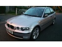 BMW 320td Compact, 2002, Detachable Tow Bar, lower tax band £145