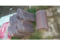 Roof tiles and ridges perfect for porch £20