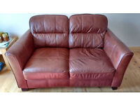 2 and 3 seater leather sofas, £150 ono, collection only in Warwick