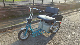 NEW BATTERIES 8mph TGA Supersport Twin Seat Long Wheelbase Mobility Scooter