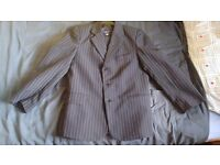 Boys 3 piece pinstriped suit - Age 10