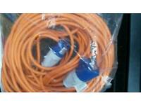 Camping Mains hook up lead 25 metres