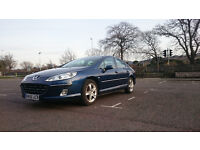 Well-maintained Peugeot 2.2 Biturbo, blue metalic, MOT till 03-2018