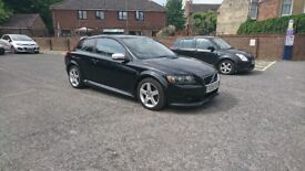 Volvo C30 D5, Manual, Black Leather interior, Good Serivce history, Recent cambelt + Aux Belts