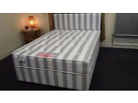 DOUBLE ORTHOPAEDIC DIVAN OFFER - BRAND NEW - DELIVERED - KING SIZE AVAILABLE