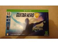Guitar Hero Xbox one Game Complete / Mint Condition