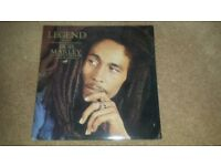 BOB MARLEY REGGAE ''LEGEND''ORIGINAL PRESSING 1984 ISLAND PINK RIM. PALM TREE LABEL BMW1