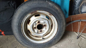 Caravan/trailer Tyre & Wheel