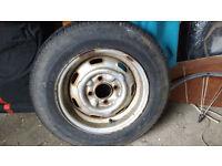 Caravan/trailer Tyre & Wheel