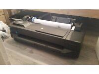 T120 Designjet A1 Printer (Good Condition)