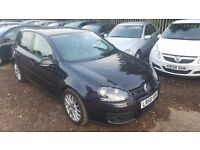 Volkswagen Golf 2.0 GT TDI DPF 5dr, FULLY LOADED, FSH, HPI CLEAR, 2 KEYS, FULL LEATHER INTERIOR
