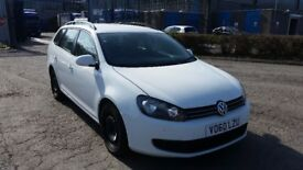 2010 (60 reg) Volkswagen Golf 1.6 TDI Blue Motion Tech S Estate FOR SALE £2,200 WITH 12 MONTHS MOT