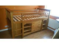 Julian Bowen Barcelona Solid Pine Sleep Station