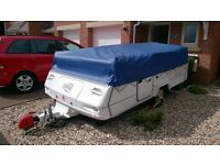 2005 Conway Cruiser Folding Camper (Cross Between A Trailer Tent & A Caravan)