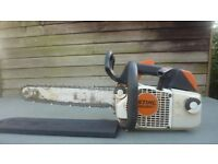 Stihl ms200t most powerful top handle saw made