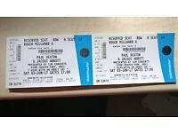 Paul Heaton & Jacqui Tickets - Sat 3 June - 2 x Seated