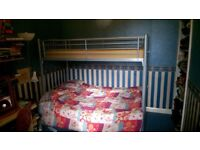Bunk Bed with Futon Double Bed