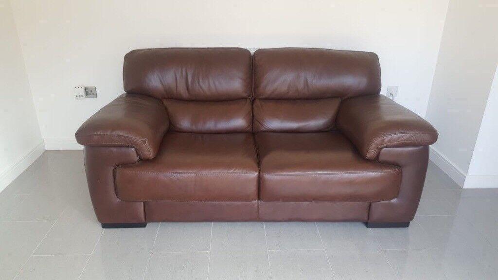 Amazing 2 Iolino Italian Premium Dark Brown Soft Leather Sofas For Sale In Rogerstone Newport Gumtree Bralicious Painted Fabric Chair Ideas Braliciousco