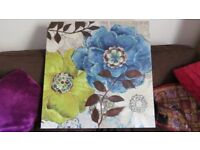 Lovely Large Textured Canvas Painting (80 x 80)