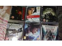 6 PS3 games