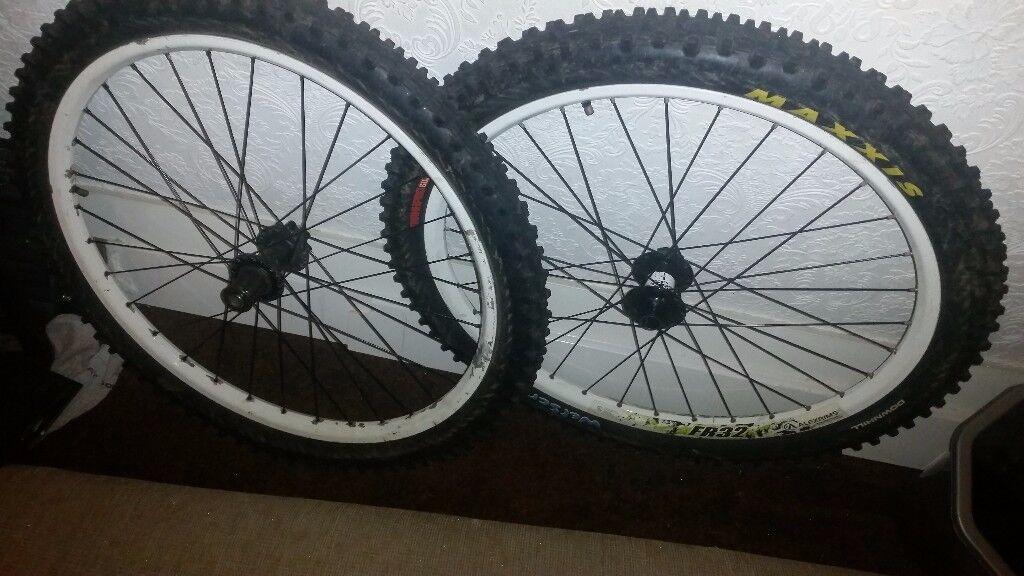 """Alexrims fr32 26"""" wheels"""