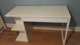 IKEA MICKE Desk (incl. drawer organiser)
