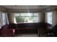 Caravan for sale.35ft-12ft in Crosbie Towers,West Kilbride.Site Fees are £1975
