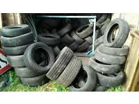 FREE TIRES many different uses Not road worthy