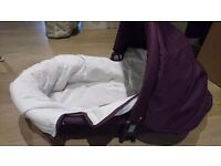 Icandy cherry pram with carrycot