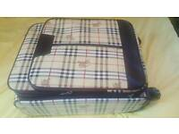 Burberry suitcase trolley bag luggage bag brand new £150