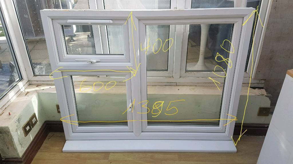 newest collection 8aa96 700ae UPVC window glazed white eurocell profile local delivery two opening  windows | in Romford, London | Gumtree
