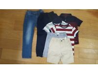 Bundle of 7-8 yrs boys clothes with some portswear