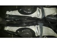 Richa leather motorbike trousers