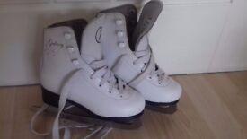 Ice skates. Size 12 junior ice skates.