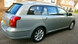 2005 Toyota Avensis T3-S 2.0 d-4d (114BHP), MOT april 2018, 2 owners from new, Last owner since 2008