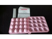 cake pop baking set never used