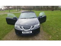 SAAB 9.3 Linear SE 1.9 TTID (160) Convertiable. Black