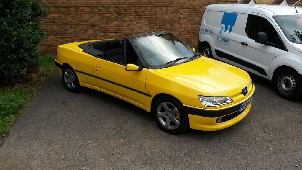 peugeot 306 cabriolet s 2 0 16v sundance yellow 1999 in manningtree essex gumtree. Black Bedroom Furniture Sets. Home Design Ideas