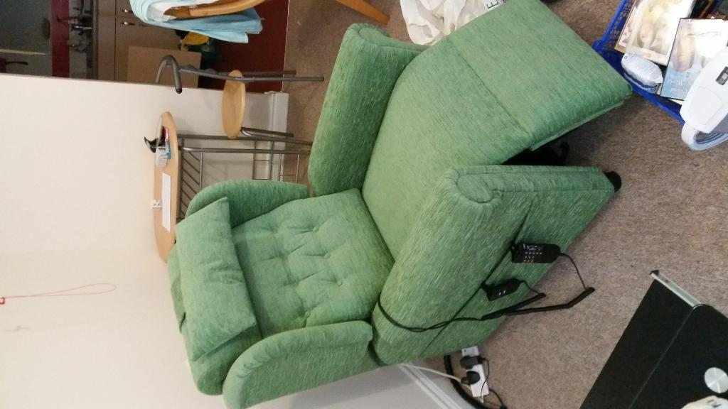 Brand New Riser Recliner With Built In Massage Chair