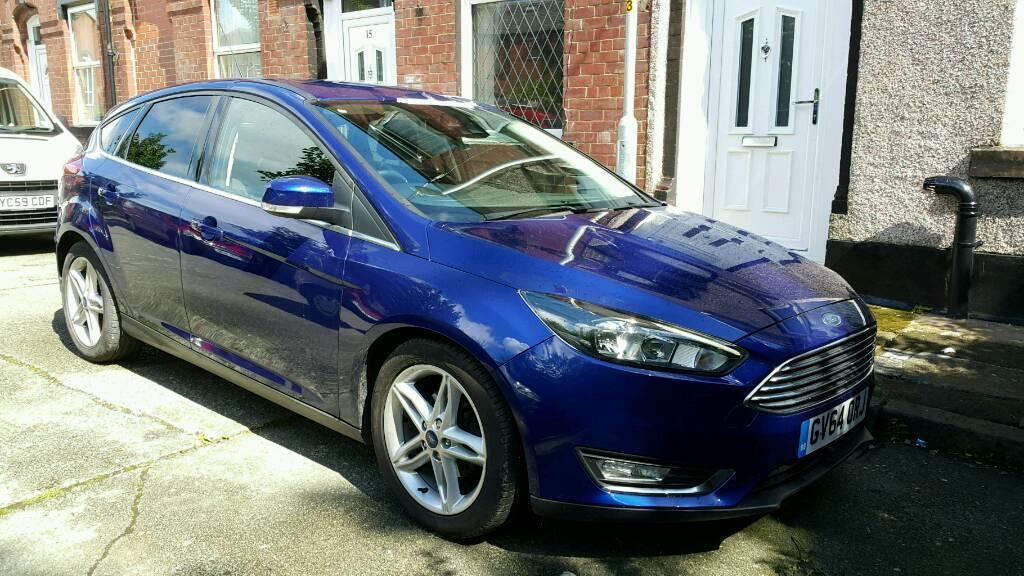 Ford focus titanium 1.6 diesel