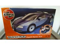 Airfix quick build car sets.
