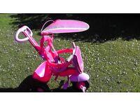 4 In One Girls Pink Bike