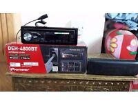 Bluetooth car cd player