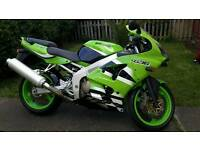 Kawasaki zx636 a1p only done 6399 miles.