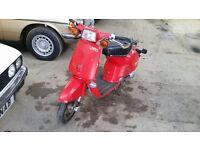Honda melody deluxe 2 classic retro moped scooter no Yamaha passola Honda vision cub 90 lambretta