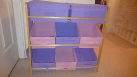 Storage unit - great for toys or those girly bits and bobs!