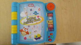 Little tikes activity book